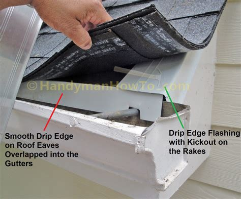In Style Flash A New Way To by Hail Damaged Roof Replacement Part 6 Drip Edge Roof
