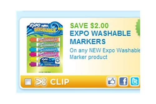 expo markers coupons