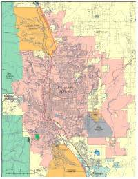 colorado springs digital vector maps editable
