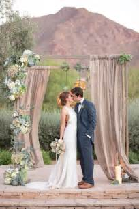 Diy Pearl Chandelier Arizona Succulent Wedding Arch For Rustic Wedding Ceremony