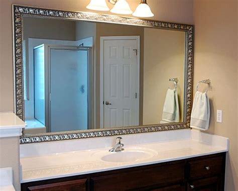 bathroom mirror frames diy mirror mate diy frames for bathroom home sweet home