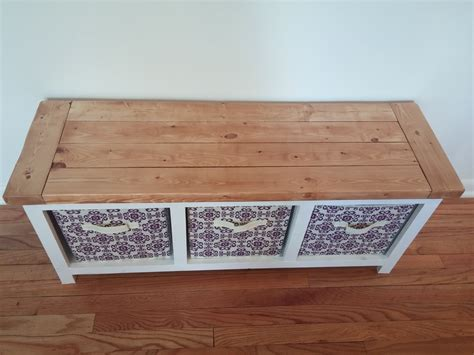 ana white  cube bench diy projects
