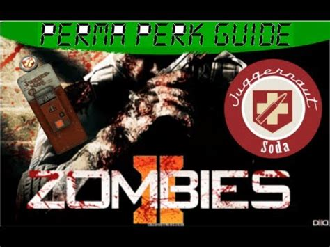 tutorial zombies tranzit call of duty black ops 2 zombies permanent juggernog