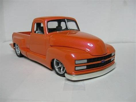 custom model chevy truck front scale car models