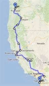 portland california map california to oregon road trip day 8 medford crater