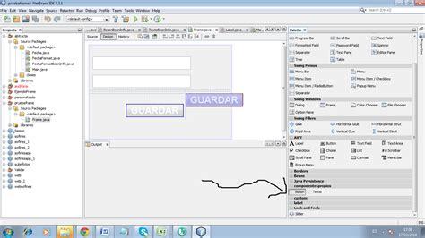 netbeans swing blog del lenguaje java componentes personalizados swing