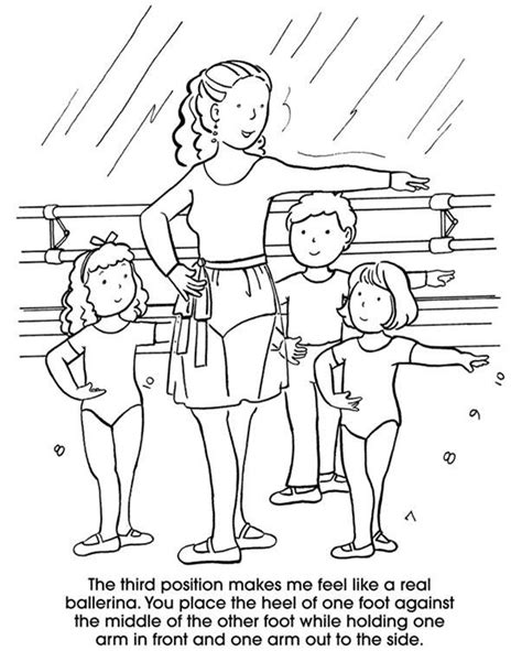 ballerina coloring pages first position ballet class millicent mouse s blog