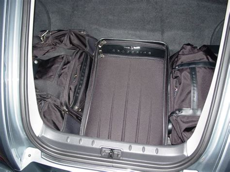 chrysler crossfire luggage crossfire touring gear