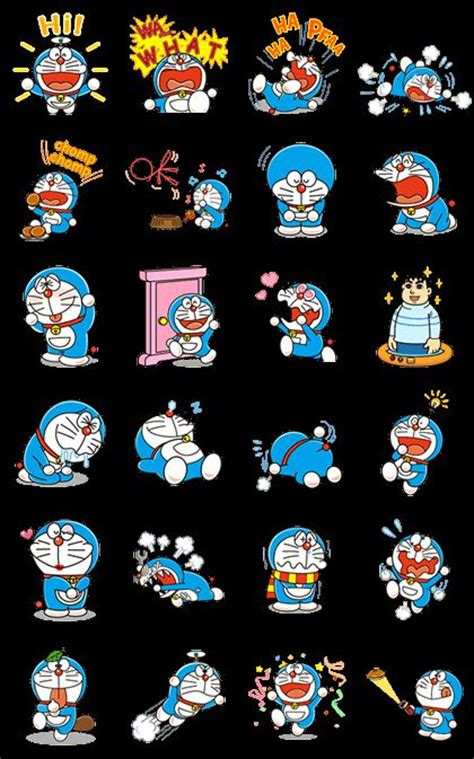 Wallpaper Doraemon Wallpapersticker Doraemon Stiker Doraemon 24 best doraemon and friends images on
