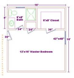 Master Bedroom Bathroom Floor Plans by Master Bedrooms Masters And Walk In Closet On