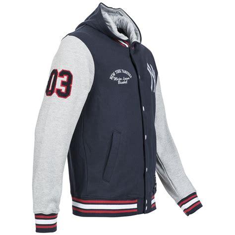 Jaket Baseball Fleeece Jbs 03 new york yankees majestic mlb rena fleece letterman