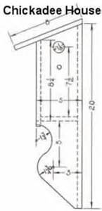 chickadee bird house design 187 woodworktips
