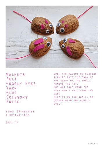 Bastel Ideen Weihnachten 5915 by More Things To Do With Walnuts Made By