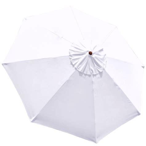 Best Patio Umbrella Fabric by 8 9 10 13 Umbrella Replacement Canopy 8 Rib Outdoor