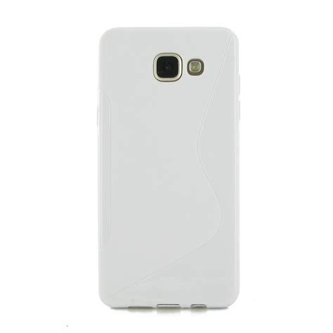Softcase Jacket For Samsung Galaxy A5 samsung galaxy a5 2016 soft white s shape pattern pdair