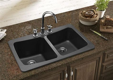 Kitchen Faucet For Granite Countertops What Is Best Kitchen Sink Material Homesfeed