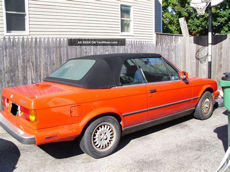 1987 bmw 325i convertible specs 1987 bmw 325i convertible