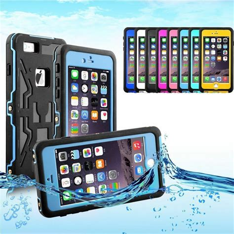 swimming waterproof shockproof underwater cover for apple iphone 6 6s plus ebay