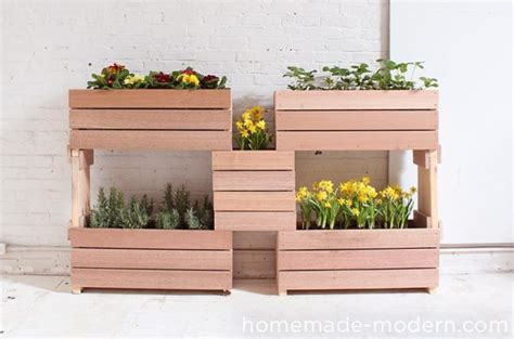 Stacked Planter Boxes by 12 Diy Stacked Flower Pots For Bringing Positive Vibes In