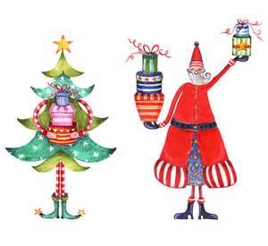 the bowerbird christmas illustrations