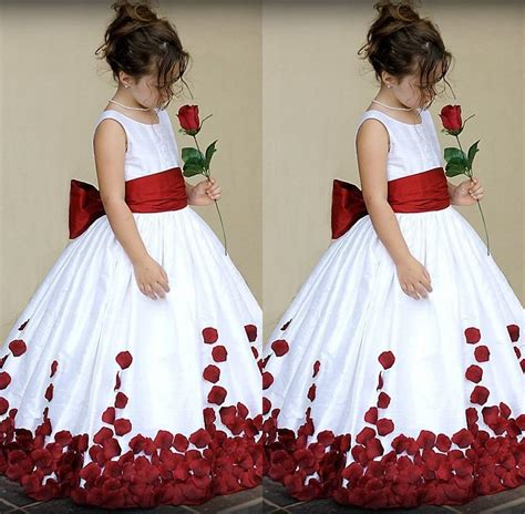 Children Of The White childrens and white bridesmaid dresses flower