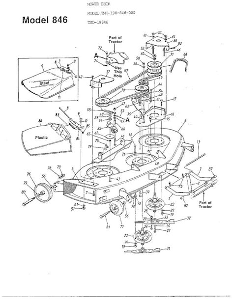 mtd lawn mower parts diagram mtd parts diagram mtd yardman using mower portions diagram