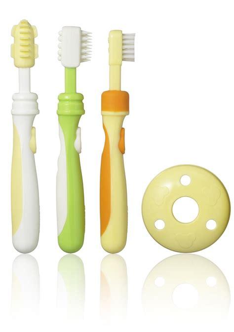 Baby Toothbrush Set T1310 2 bathing changing baby hygiene pigeon