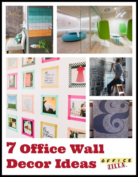 Office Wall Decorating Ideas For Work 7 Office Wall Decor Ideas The Officezilla 174