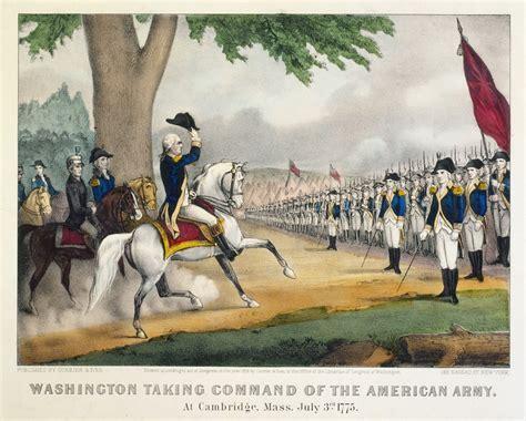 george washington biography american revolution american revolution highlights washington takes command