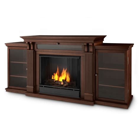 shop real 67 in gel fuel fireplace at lowes