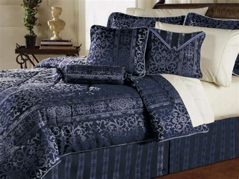 navy blue coverlet queen 7pc gorgeous versailles navy blue comforter set queen