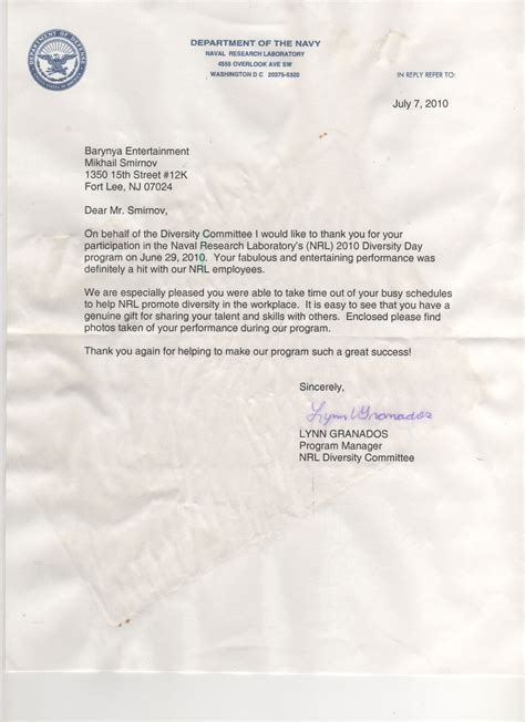 Recommendation Letter Navy Recommendation Letters For Barynya