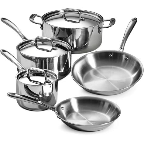 Stainless Steel Kitchen Canisters Sets cookware sets walmart com