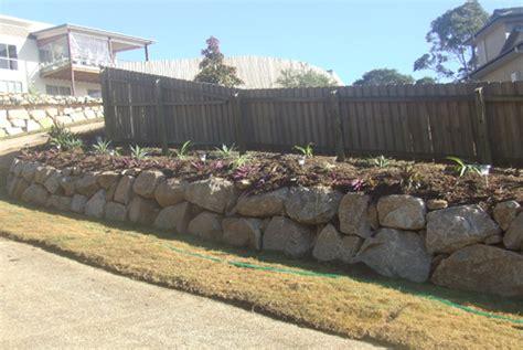 garden bed walls garden bed retaining wall brisbane precision boulder