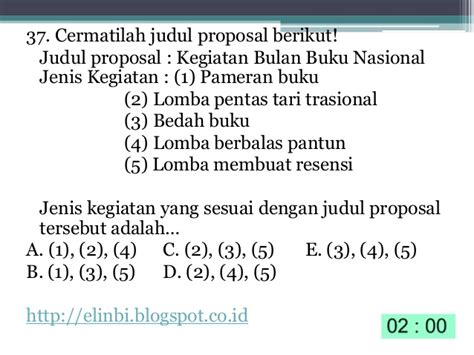 membuat latar belakang proposal kegiatan latihan soal un bahasa indonesia smk cyberclass