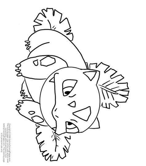 pokemon coloring pages ivysaur ivysaur coloring pages getcoloringpages com