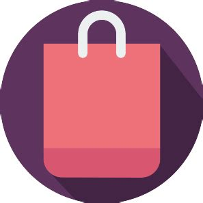 shopping bag free business icons