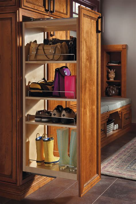 tall pantry pull  cabinet schrock cabinetry