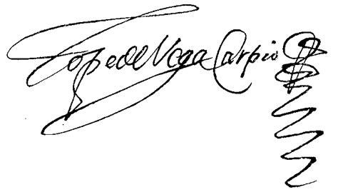 ejemplos de firmas file lope de vega firma png wikimedia commons