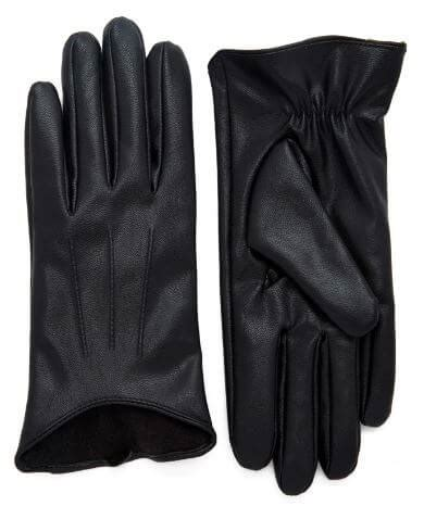 Faux Leather Gloves vegan leather gloves to keep your digits warm this winter