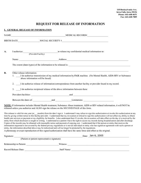 general release form template best photos of general release form template general