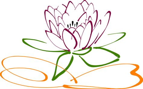 flower tattoo vector free colouring picture of lotus clipart best