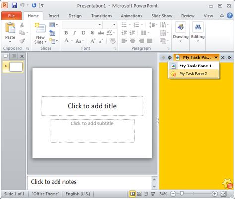 outlook 2010 color scheme office 2010 advanced task panes for excel word and