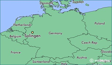 solingen map where is solingen germany where is solingen germany