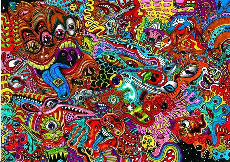 doodle hd arte psicod 233 lico