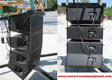 backyard sound system outdoor line array sound system