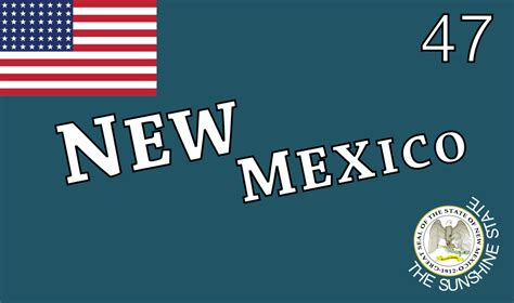 New Mexico The 47th State by 15 Unwritten Every New Mexican Lives By Till