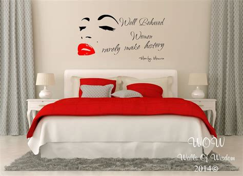 sexy home decor marilyn monroe sexy adult quotation wall sticker wall