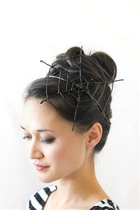 haircut designs spider web 20 spooky halloween hairstyles and hair accessories you