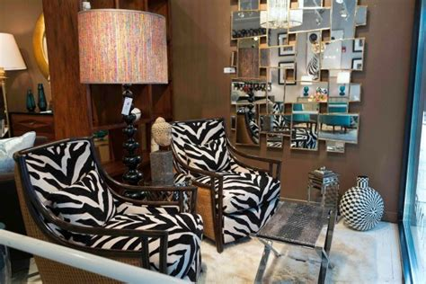 print chairs living room 20 living spaces with zebra print accents